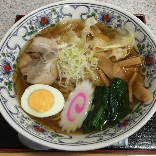 「ワンタンメン(¥900)」@レストラン あさやの写真
