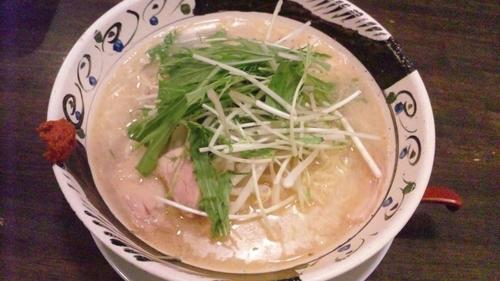 「鶏塩白湯麺」@きぼう軒 朝霧店の写真