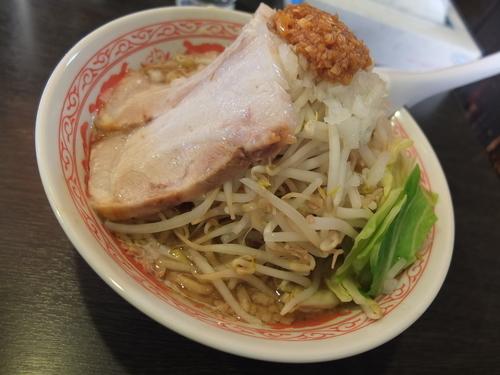 「ふじ麺(中盛り・こってり)」@景勝軒 前橋総本店の写真
