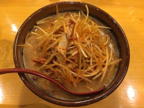 「北海道味噌肉ネギらーめん」@麺場田所商店 春日部店の写真
