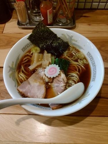 「【限定】豚と生姜のじんわり醤油らーめん」@らーめん カッパハウスの写真