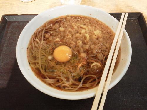 「かけそば 330円」@いわもとQ 歌舞伎町店の写真