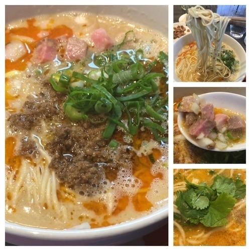 「限定 担々麺  900円」@柳麺 呉田-goden-の写真