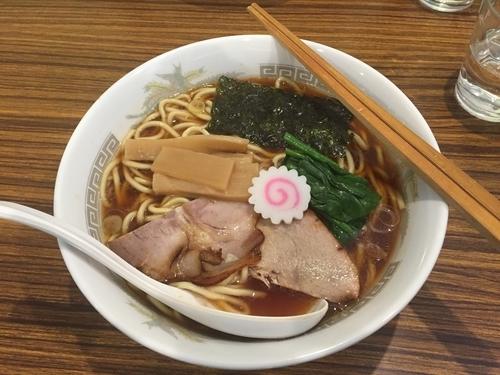 「【限定】豚と生姜のじんわり醤油らーめん750円+大盛100円」@らーめん カッパハウスの写真