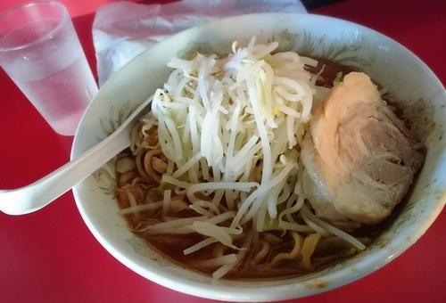 「限定 味噌ラーメン」@蒙麺 火の豚の写真