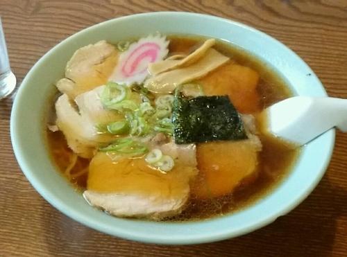 「チャーシューメン」@あさひ食堂の写真