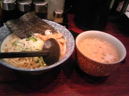 「ごま味噌つけ麺」@北海道らーめん奥原流 久楽 北千住店の写真