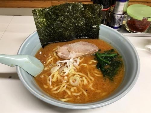「辛味噌(中)・カタメ」@ラーメン屋 けんの写真