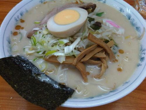 「豆乳ラーメン(700円)」@大谷田 大勝軒の写真