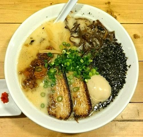 「特製魚介豚骨麺」@麺屋 西川の写真