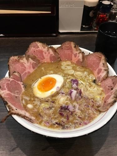 「TORI豚白湯チャーシューメン」@拉麺 水輝の写真