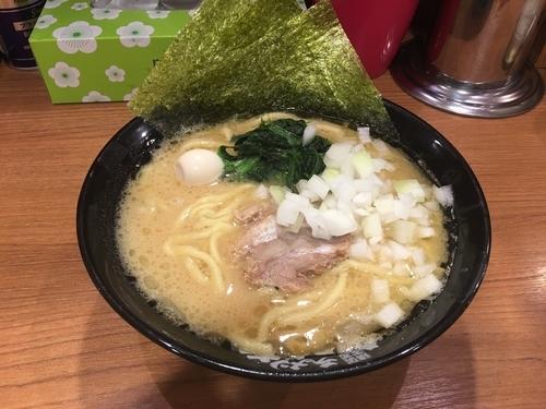 「ラーメン(並)麺硬め」@横浜家系ラーメン 秋津商店2号店の写真