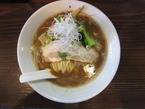 「かつお とりぱいたん麺 830円」@麺屋 風月の写真