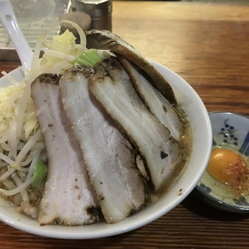 「ラーメン 焼き豚 たまご 750+360+60円」@ら・けいこの写真
