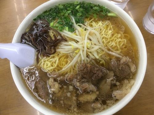 「スジラーメン 麺硬め 大盛」@ラーメン いのよしの写真