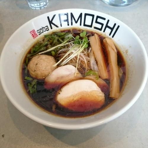 「鶏soba醤(しょうゆ)  @750円」@鶏 soba KAMOSHIの写真