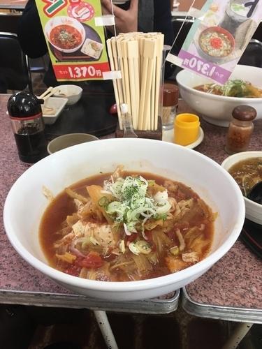 「ゆばトマトラーメン」@まるひで食堂の写真