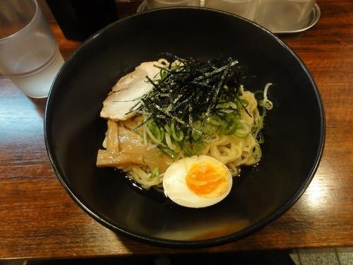 「油そば 醤油味」@味の天徳 京都四条木屋町店の写真