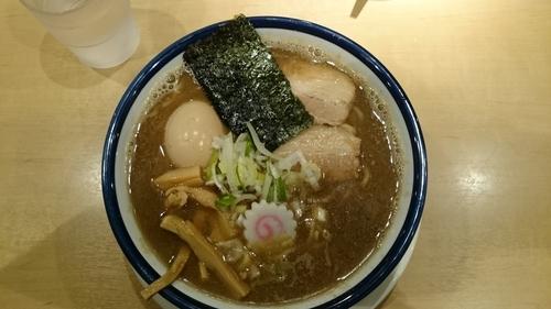 「味玉旨味中華そば、麺大盛り」@つけめん 玉 シャポー船橋店の写真