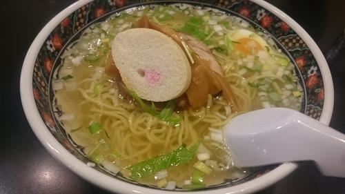 「塩ラーメン」@函館麺厨房あじさい 本店の写真