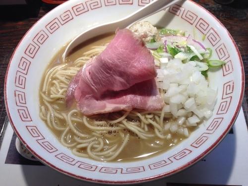 「濃厚鶏白湯煮干しラーメン」@らぁめん小池の写真