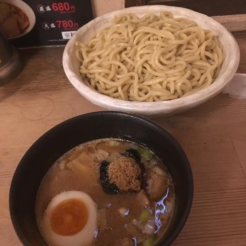 「つけ麺 中盛り あつもり」@えびすらーめんの写真