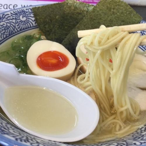 「鶏白湯(あっさり)」@麺匠なべすけの写真