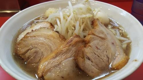 「小ラーメン+豚増し+味玉(にんにく)¥1,000」@麺屋 桐龍の写真