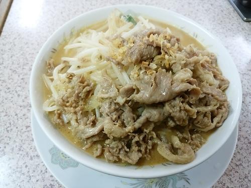 「ミソ肉タンメン ヤサイ多め」@みそ一発 多摩川店の写真
