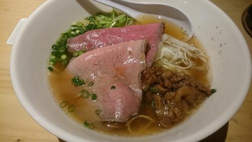 「特製牛骨」@麺屋 西川の写真