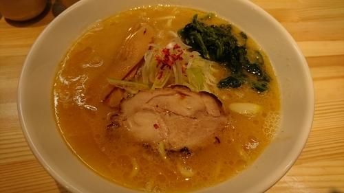 「特製鶏濃厚麺」@麺屋 龍の写真
