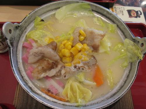 「野菜ちゃんぽん(お新香付き) 「530円」」@Joyfull 越谷レイクタウン店の写真