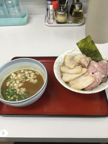 「チャーシューつけ麺 950円 肉の日(29日)」@優勝軒 上尾店の写真