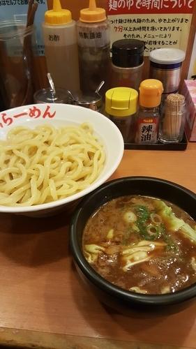 「剛つけ麺 大盛」@日の出らーめん 大船店の写真
