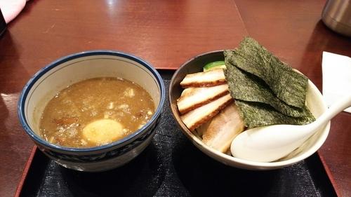 「特製濃厚煮干しつけ麺 大」@麺屋 甍の写真