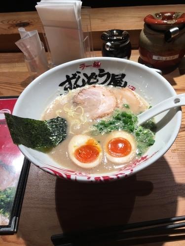 「味玉らーめん」@ラー麺ずんどう屋 神戸元町店の写真