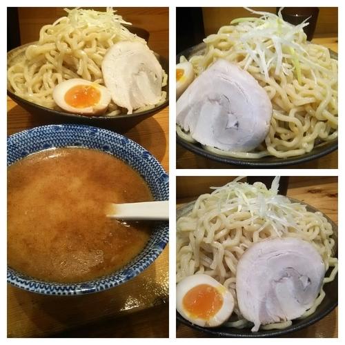 「豚骨つけ麺+大盛り(2玉)」@麺屋 遊助の写真