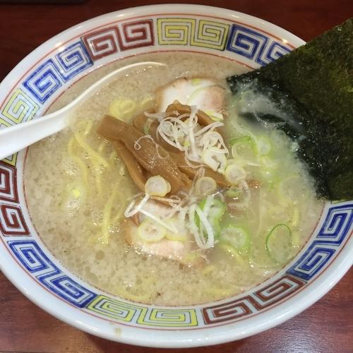 「塩ラーメン(¥750)」@麺や新源の写真