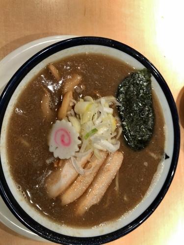 「旨味醤油そば 750円」@つけめん 玉 シャポー船橋店の写真