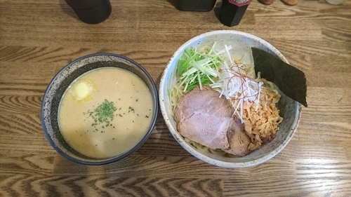 「じゃがバターつけ麺」@らーめん 縁の写真