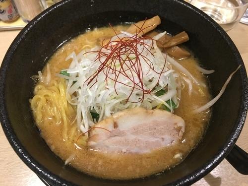 「味噌そば」@麺屋壱心の写真