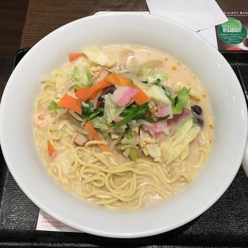 「長崎ちゃんぽん(麺2倍) ¥626」@長崎ちゃんぽん リンガーハット 門前仲町店の写真