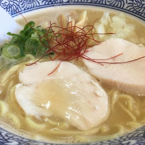 「濃厚鶏白湯」@麺匠なべすけの写真