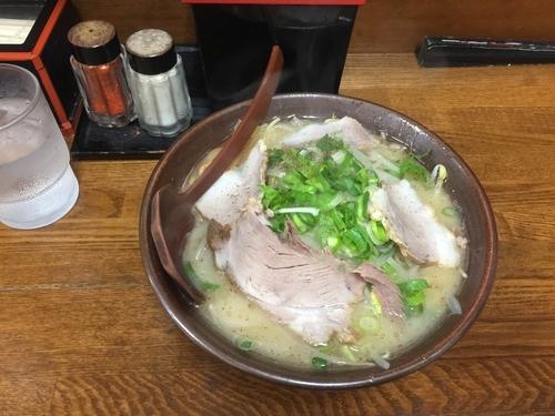 「白味噌ラーメン」@新進亭 一乗寺店の写真