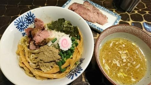 「【限定】煮干油そば」@特級鶏蕎麦 龍介の写真