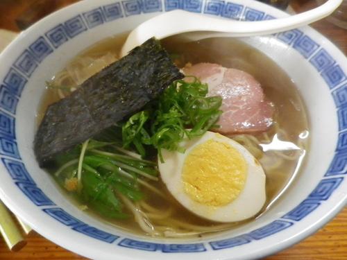 「いわし寿司 つみれラーメンAセット」@いさ美寿司の写真