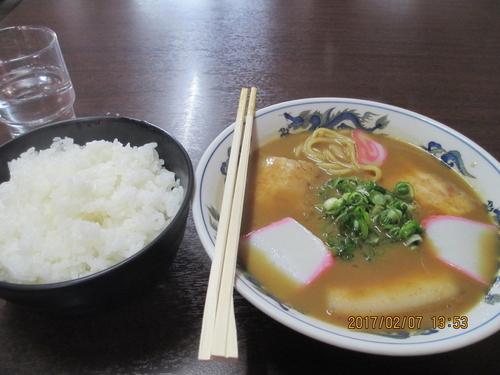 「中華そば ¥850 ライス大盛¥100」@山為食堂の写真