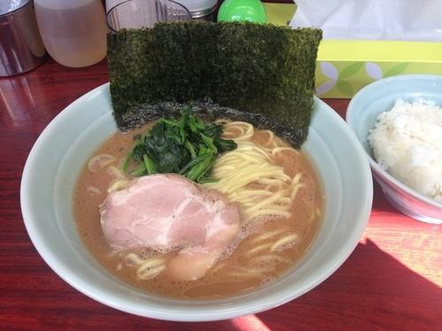 「ラーメン」@横浜ラーメン武蔵家 菊名店の写真