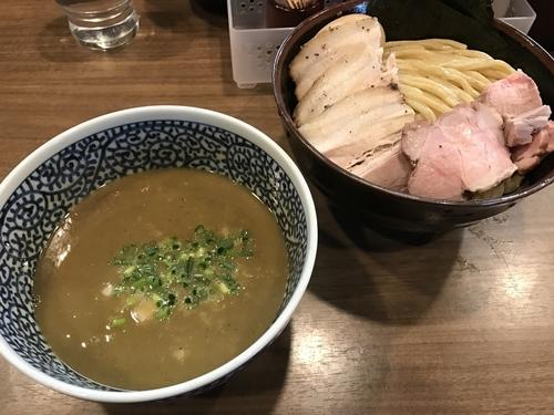 「特製極濃煮干しつけ麺 中盛」@煮干しつけ麺 宮元の写真
