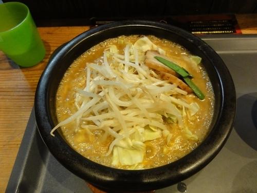 「黄拉」@噴火拉麺の写真